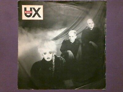 "U-BahnX - Young Hearts Of Europe (7"" single) picture sleeve EMI 5516"