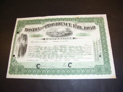 Set C: 6 different nice US Railroad share certificates, 19th / 20th century