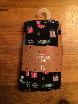 Girls 18-24 Months TU Christmas Tights
