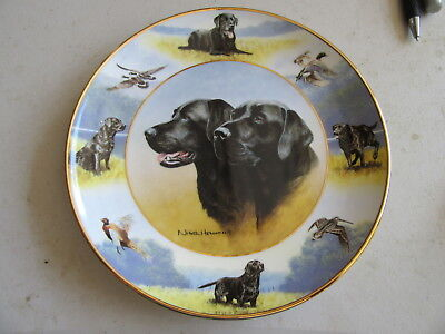 """Royal Doulton Franklin Mint Heirloom Recommendation """"The Sporting Life"""" Plate"""