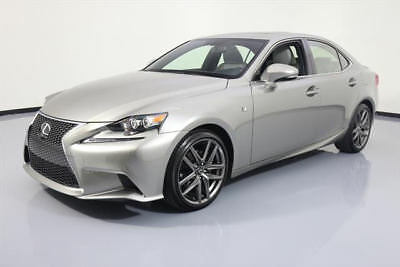 2015 Lexus IS  2015 LEXUS IS250 F-SPORT SUNROOF NAV CLIMATE SEATS 17K #050196 Texas Direct Auto