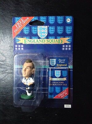 David Platt England E01 Unopened pack