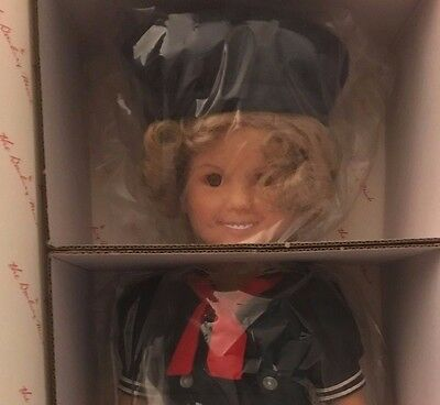 1991 Danbury Mint Shirley Temple Dress Up Doll with 20 Outfits NEW IN BOX