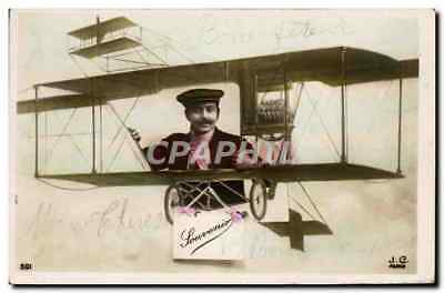 CPA Avion Aviation Homme