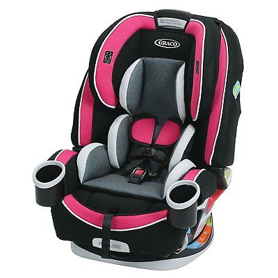 NEW Graco 4ever All-in-One Baby Infant Toddler Car Seat Booster Azalea Fashion