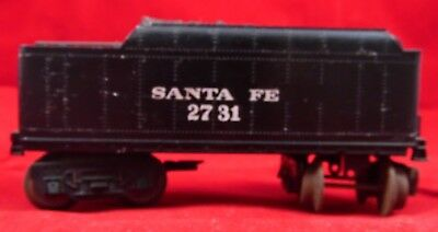 Vintage O Gauge Scale Santa Fe 2731 Coal Car Train Lionel