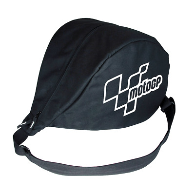 MotoGP Official Product Motorcycle Helmet Protector Padded Messenger Bag Black