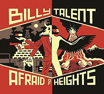 Billy Talent - Afraid Of Heights - New Deluxe Cd Album