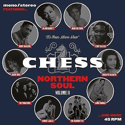"Chess Northern Soul: Volume Ii - New 7"" Box Set"