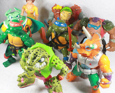Turtles TMNT Figur Figuren Teenage Mutant Ninja Turtles Sammlung Playmates Set