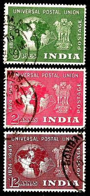 INDIA 1949 Early Republic Stamps - Universal Postal Union
