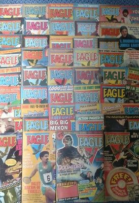 EAGLE COMICS issues 1 - 44 from 1982 to 1983.good condition