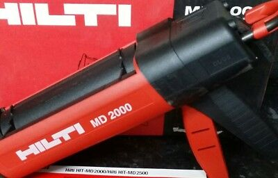 Hilti MD2000 Resin Gun with Case & spare foil pack