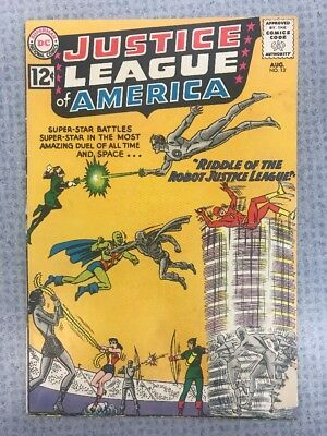Justice League Of America #13 G/VG