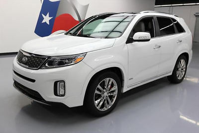 2015 Kia Sorento  2015 KIA SORENTO SXL AWD PANO SUNROOF NAV REAR CAM 36K #579285 Texas Direct Auto