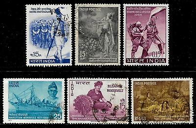 INDIA  Early Republic Stamps - Life of Indian People