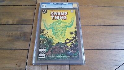 Saga of the Swamp Thing #37 - 1st Full App of John Constantine - CGC 8.0 - 1985