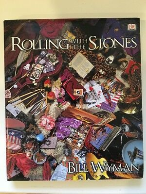 Rolling With the Stones, Rolling Stones Autobiography By Bill Wyman, Signed !!!