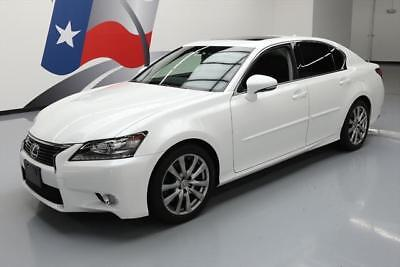 2014 Lexus GS Base Sedan 4-Door 2014 LEXUS GS350 LEATHER SUNROOF REAR CAM BLUETOOTH 19K #042372 Texas Direct