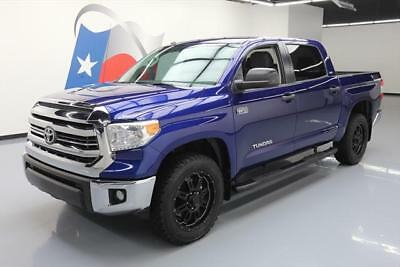 2015 Toyota Tundra 1794 Edition Extended Crew Cab Pickup 4-Door 2015 TOYOTA TUNDRA SR5 CREWMAX 4X4 TSS NAV LEATHER 16K #447544 Texas Direct Auto