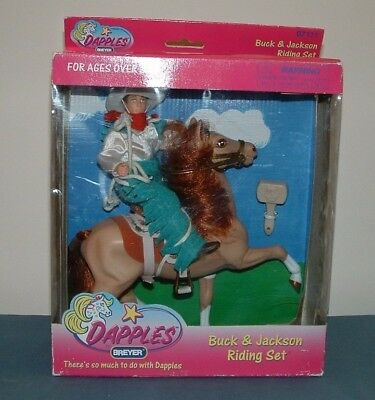 Dapples Buck & Jackson Riding Set - 1997 - Breyer - Mib