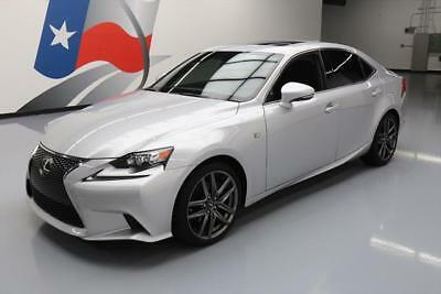 2015 Lexus IS  2015 LEXUS IS250 F-SPORT AUTO SUNROOF REAR CAM 25K MI #057963 Texas Direct Auto