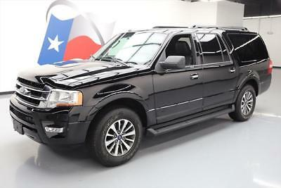 2017 Ford Expedition EL King Ranch Sport Utility 4-Door 2017 FORD EXPEDITION XLT EL ECOBOOST 8-PASS REAR CAM 4K #A23579 Texas Direct