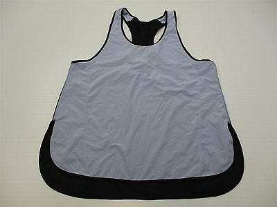 LULULEMON ATHLETICA T1495 Women's Size 10 Mesh Back Athletic Blue/Black Tank Top