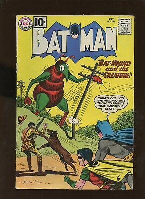 Batman 143 VG 4.0 * 1 Book Lot * Bat-Hound and the Creature!!!
