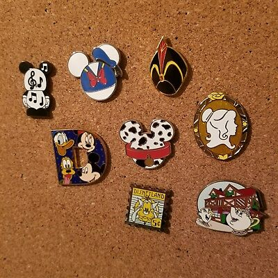 Disney Trading Pins Lot of 8 Beauty and the Beast Vinylmation Jafar Donald Duck