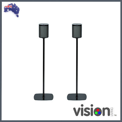 Flexson Sonos Play:1 Floorstand (Pair - Black)