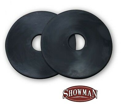 "Showman 3.5"" Rubber Bit Guards! SOLD IN PAIRS! NEW HORSE TACK!"