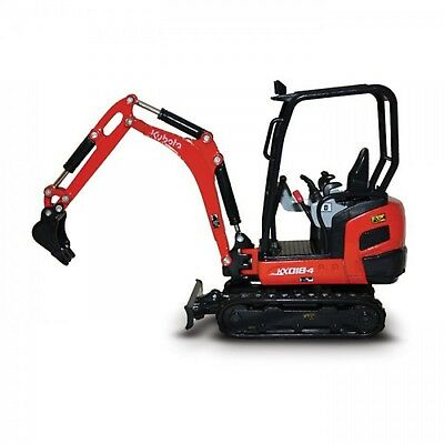 Kubota KX018-4  1:24 Scale Model Excavator Part# J630