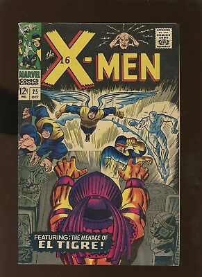 X-Men 25 FN/VF 7.0 * 1 Book Lot * 1st El Tigre!!!!