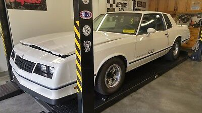 1984 Chevrolet Monte Carlo Super Sport 1984 Chevrolet Monte Carlo Super Sport Hardtop White California Car for 20 years