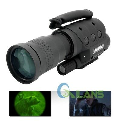 Rongland NV-760D+IR High-Powerd Infrared Night Vision Record Monocular Telescope