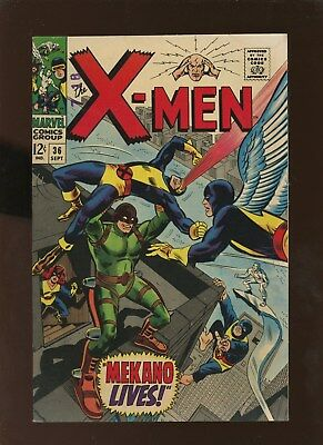 X-Men 36 VF 7.0 * 1 Book Lot * 1st Mekano!!!