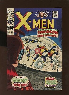 X-Men 37 FN 6.0 * 1 Book Lot * Factor Three!!!