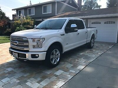 2015 Ford F-150  2015 Ford F-150 PLATINUM LEATHER AC/HEATED SEATS