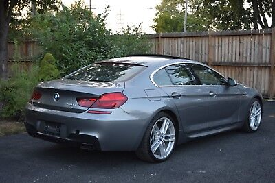 2013 BMW 6-Series 4 DOOR GRAND COUPE 2013 BMW 650i  Grand coupe SPORT SALVAGE NO RESERVE!!! s5 m6 e63 c63 a6 s6