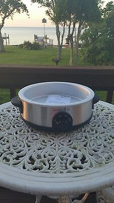 The pampered chef rockcrok slow cooker stand 4 qt 3156