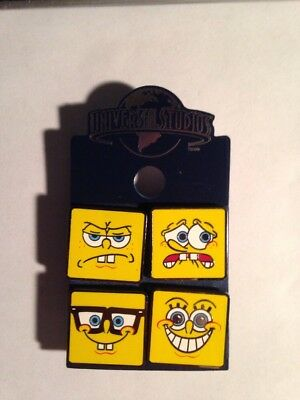 Universal Studios Spongebob Faces Pin