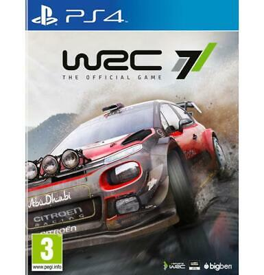 WRC 7 World Rally Championship PS4 PlayStation 4