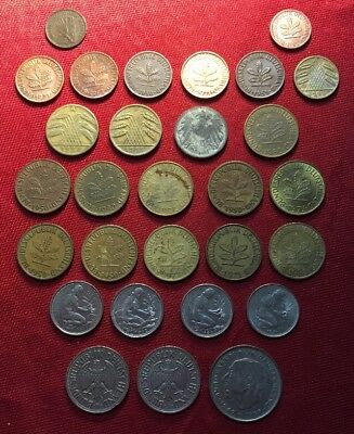 German Coins Lot of 29 1859 1920's Free Shipping