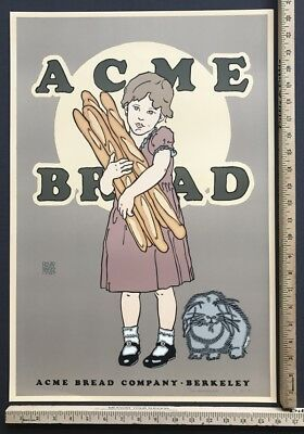 David Lance Goines SIGNED #20 of 300 - ACME BREAD [BERKELEY] (#136) 1989
