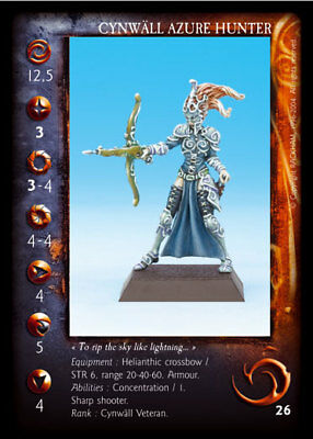Confrontation Cynwall Elves Azure Hunters (French Cards, OOP, Elf)