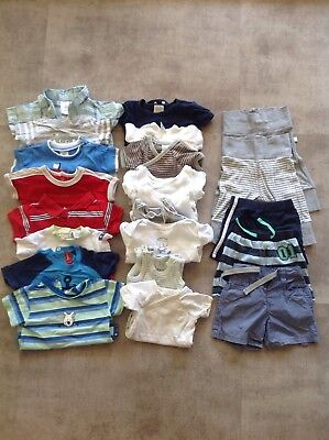 Baby Boy Summer Clothes Size 0000