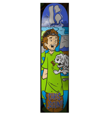 "Plan B Coco Snacks Chris Joslin 8.0"" Skateboard Deck"