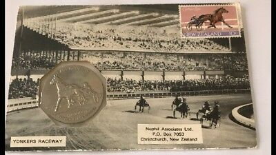 Horse Racing Cardigan Bay Collectable Nuphill Associates New Zealand Stamp/coin