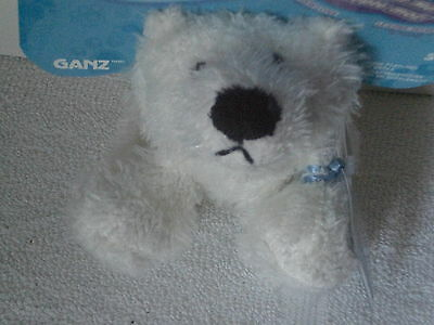 New Ganz Lil' Webkinz Adopt Me Polar Bear HS116 With Unused Sealed Code Ages 5+